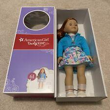 American Girl Truly Me #61 18 Inch Doll NIB Green Eyes Red Hair