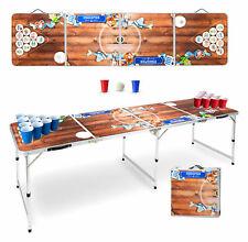 Beer Pong Tisch Bier Set Bavaria inkl. Bälle Becher Cups Table Trinkspiel Party
