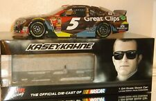 2015 KASEY KAHNE #5 GREAT CLIPS COLOR CHROME 1/24 CAR#69/72 MADE FREE SHIPPING