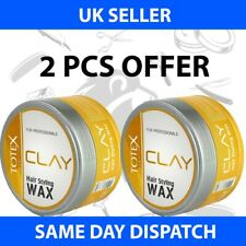 TOTEX HAIR STYLING WAX CLAY ULTRA STRONG MESS UP LOOK 150ML (2 PCS OFFER)