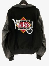 Dehen Jackets Petes Wicked Ale Mens Large Wool Leather Varsity Letterman Bomber