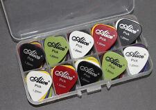 50pcs Heavy Metal Bass Durable Guitar Picks Plectrum Thick 1.20 mm + storage box