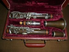 Vintage Benetone Wood Clarinet Made in Germany with Case