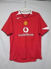 Manchester United 2004-2006 Autograph Jersey Van Nistlerooy, May and more large