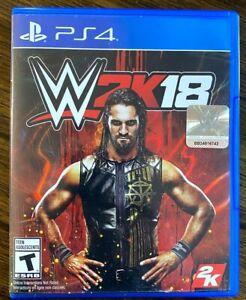 WWE 2K18 (Sony PlayStation 4, 2017)