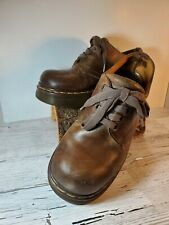 Vintage Doc Martens Leather Platform Oxfords Made in England Size 7.5 Us (39)