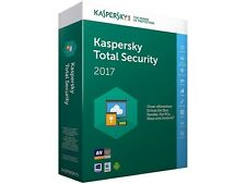 Kaspersky Total Security 2017 Multi-Gerät Device 5 PC/Geräte 1 Jahr Vollversion