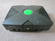 Original Microsoft Xbox 2004 Launch Edition 8GB Black Console Only Tested
