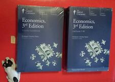 NEW The Great Courses Economics 3rd Edition DVDs, Guide, Transcripts (Seal Torn)
