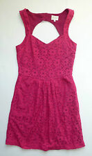 Anthropologie NWT Silverfield Sweetheart Dress by Deletta - Pink - SZ XS