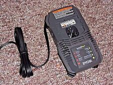 RYOBI ONE+ P118 18 VOLT DUAL CHEMISTRY BATTERY CHARGER LITHIUM ION NICAD LI-ION