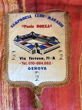 GAGLIARDETTO CALCIO  U.C. SAMPDORIA ULTRAS SAMPDORIA CLUB MARASSI PAOLO BOREA