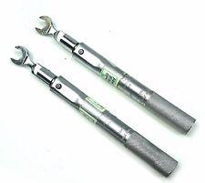 "Utica Preset Sensing Torque Wrench Size A compare CHA-11 w/ Op-122 3/8"" Head"