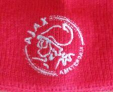 Ajax Amsterdam Beanie OSFM Knit Logo Hat Winter Futbol Soccer Cap Vintage Red