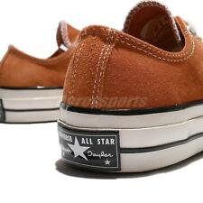 Converse Chuck Taylor All Star 70 1970s Low Orange Suede Men Women Shoes 149443C