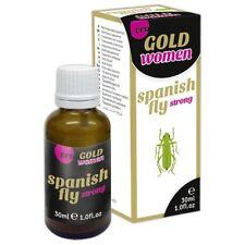 SPANISH FLY GOLD Women Aphrodisiac ERO Love Drops Orgasm Female HER Sex Aid 30ml