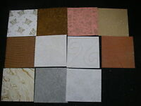 "Job Lot CREATIVE Handmade Paper Pack 11 Sheets 12x 12"" NEW Ass Colours TEXTURED"