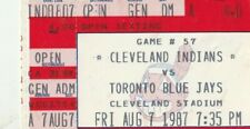 CLEVELAND INDIANS *VARIOUS* GAME TICKET STUBS ~ PICK YOUR TICKET