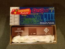 HO SCALE ROUNDHOUSE 50' BOXCAR KIT 1223 ERIE LACKAWANNA  NEW