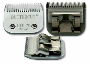 (3) Geib Buttercut Ceramic Clipper Blades: #15 #7F #5F