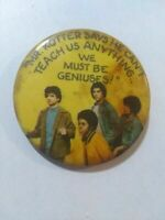 """Rare Original Welcome Back Kotter Vintage 1976 Pin Back 2"""" Button The Sweathogs"""