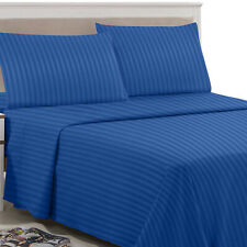 4 Piece Bed Sheets Super Deep Pocket Fitted Sheet Luxury Hotel Quality Sheet Set