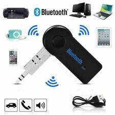 More details for wireless car bluetooth transmitter adapter receiver 3.5mm aux audio stereo music