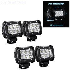 LED Light Bar Off Road Lights SUV Truck Fog Driving Spot Pods Lamps 4 Pack