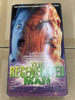 The Regenerated Man:  RARE! CULT/HORROR/SCI FI VHS TAPE 1994; RENTAL; RATED R
