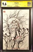 DC Comic DCEASED #1 CGC SS 9.6 NOT 9.8 Sketch Variant HARLEY BATMAN JOKER ZOMBIE
