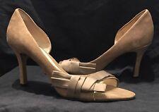 Women's RMK SINAKA Size 7 D'Orsay Tawny Coloured Heels - Never worn outside!