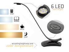 Desk LED Lamp Dimming Office Study Reading Light Adjustable Brightness Colour UK