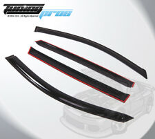 Out-Channel 2mm Visors Deflector Rain Guard Sunroof 5pcs For Acura MDX 2007-2013