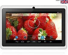 "7"" Pulgadas Q88 Tablet PC Con Allwinner A33 Quad Core Android, Negro, Blanco"