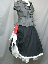 Victorian Dress Edwardian Costume Old West Gypsy Prairie Style