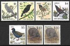 Birds Decimal New Zealand Stamps