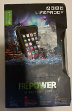2x Charge Lifeproof Fre Power Battery Charging Case For iPhone 6s / 6 - Black