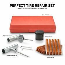 Tooluxe 50002L Universal Tire Repair Kit to Fix Punctures and Plug Flats, 35-Pie