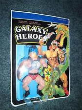 Galaxy Heroes - Helmet - 80's - Carded - Warriors - Rare - Excellent Carded Toy