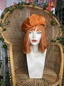 Genuine Vintage 70's Orange Hat
