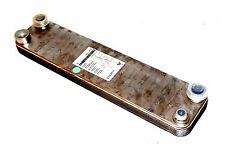 NEW WTI NP 5-10 HEAT EXCHANGER 10 PLATE, 232 PSI, NP510