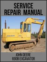 John Deere 690B Excavator Technical Manual TM1093 On USB Drive