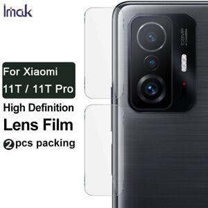 "2PCS IMAK Clear Camera Lens Tempered Glass Film For Xiaomi 11T / 11T Pro 6.67"""