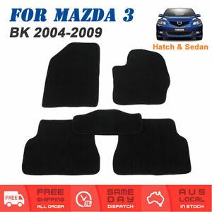For Mazda 3 BK 2004 to 2009 Sedan Hatch Car Carpet Floor Mats Front & Rear Set