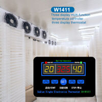 W1411 Digital Thermostat Temperature Humidity Controller Hygrometer Thermometer