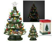 DISNEY PARK CHRISTMAS TREE CERAMIC LIGHT-UP Eeyore Pooh Owl Chip Dale BAMBI Olaf