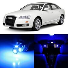 20 x Error Free Blue Interior LED Lights Package For 2005- 2011 Audi A6 S6 +TOOL
