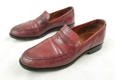 Allen Edmonds USA Made Imported Leather Ascher Shoes Size 9 D 1922 Fast Ship