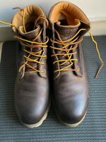 Timberland Premium Men's Ankle Boots, Size 9.5 - Brown