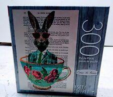 Coco de Paris 300 piece Rabbit in a Cup Jigsaw Puzzle La Petite Illustration